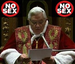 Πάπας Βενέδικτος ο Ασεξουαλικός